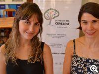 Soledad Gonzalo Cogno junto con su directora de doctorado Inés Samengo  Crédito Prensa Instituto Balseiro