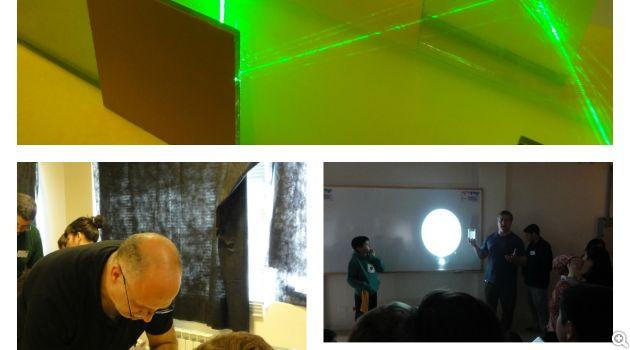 taller de experimentacion para niños - luz y vision