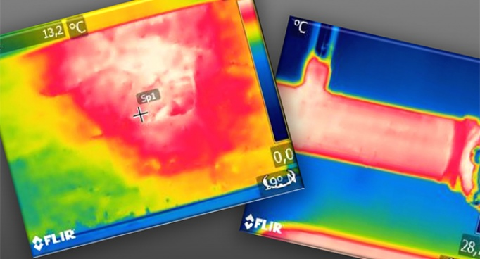 Análisis térmicos a partir de termografías